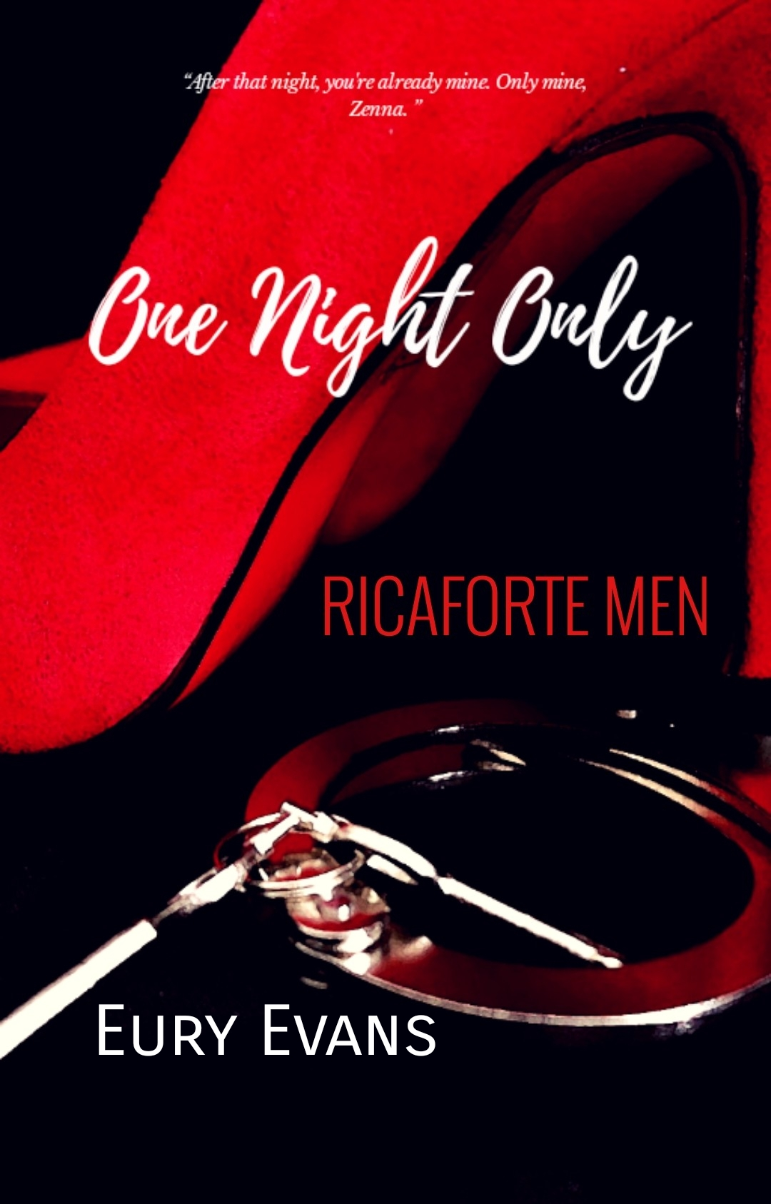 RICAFORTE MEN 1: ONE NIGHT ONLY
