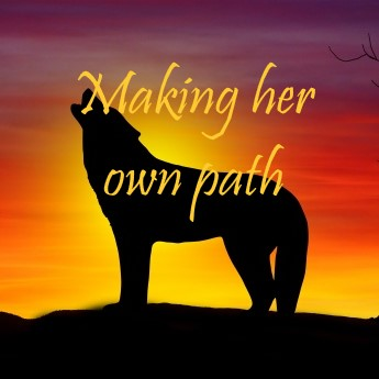 Making her own path